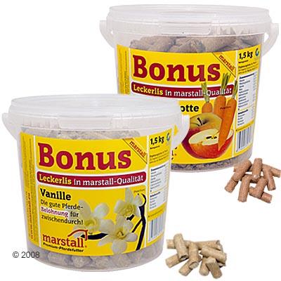marstall bonus snoep pellets     1,5 kg appel  wortel