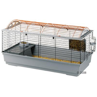 ferplast konijnen  en caviakooi casita 120     onderbak beige