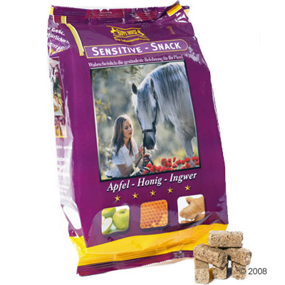 happy horse sensitive snack appel honing gember     1kg