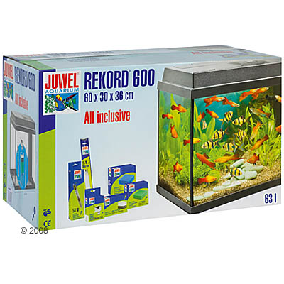 juwel aquarium rekord 600     zwart