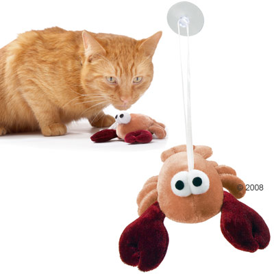 hunter kattenspeelgoed krab     8 cm