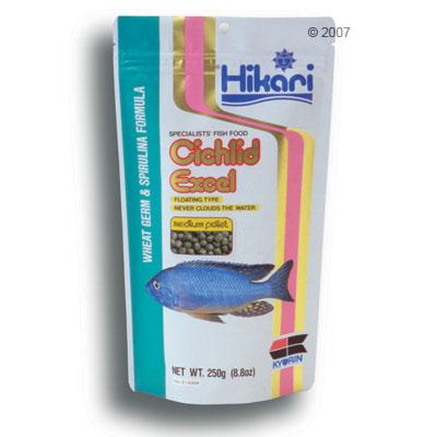 hikari cichlid excel specialiteitvoer voor cichliden     medium korrels 250 g