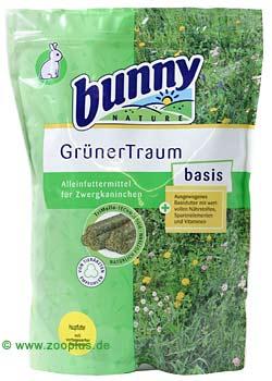 bunny groene droom basis konijnenvoer      1,5 kg