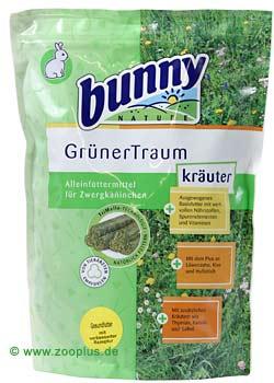 bunny groene droom kruiden konijnenvoer      1,5 kg