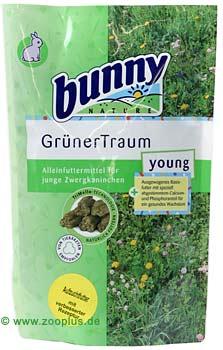 bunny groene droom young konijnenvoer      1,5 kg