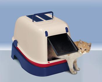 ferplast filter voor kattenbak innova & magix     reservefilter, zwart
