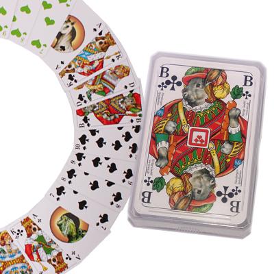 Zooplus kaartspel     32 speelkaarten van kantoor artikelen tip.