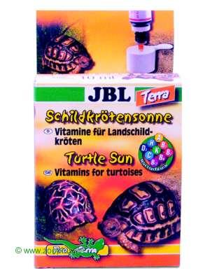 jbl schildpaddenzon vitaminen 10 ml     aqua voor waterschildpadden