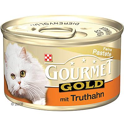 megapack gourmet gold paté 24 x 85 g     gevogelte