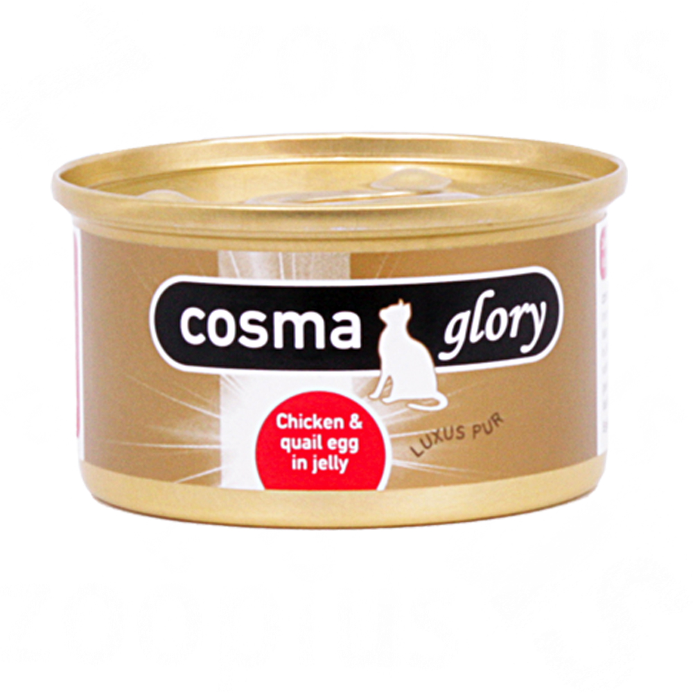 cosma glory in jelly 6 x 85 g      kip met kwartelei