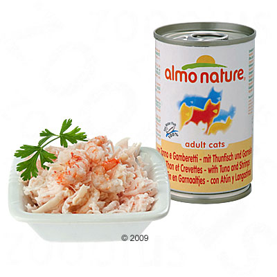almo nature 6 x 140 g     atlantische tonijn