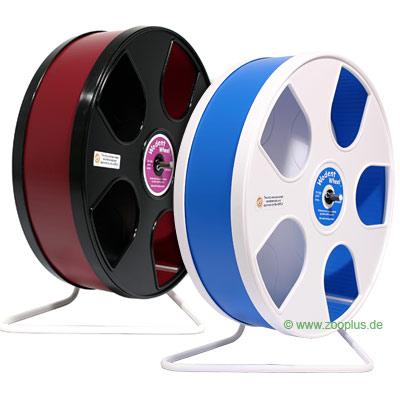 Wodent wheel looprad voor hamster  Ø 27 cm     wit/lichtblauw van kantoor artikelen tip.
