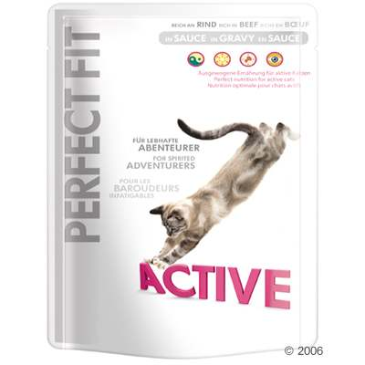 perfect fit active  6 x 85 g     active rund in saus