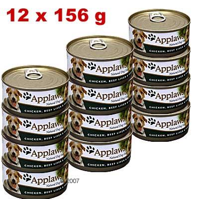 Voordeelpakket: applaws hondenvoer 12 x 156 g     kip, runderlever & groente van kantoor artikelen tip.