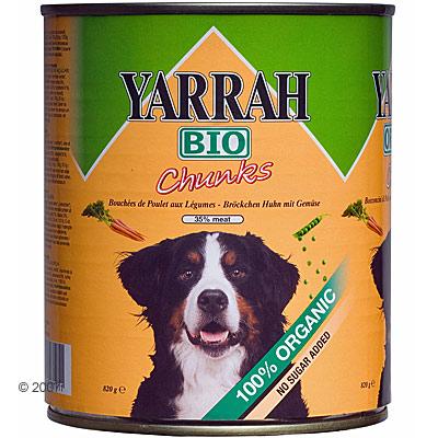 Yarrah brokjes in saus 6 x 820 g     kip met groenten van kantoor artikelen tip.