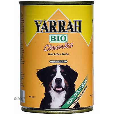 Yarrah brokjes in saus 6 x 405 g     kip van kantoor artikelen tip.