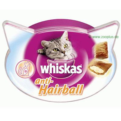 Whiskas anti hairball     3 x 60 g van kantoor artikelen tip.