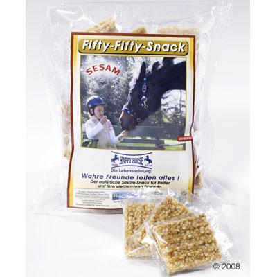 fifty fifty snack voor paard en ruiter     180g
