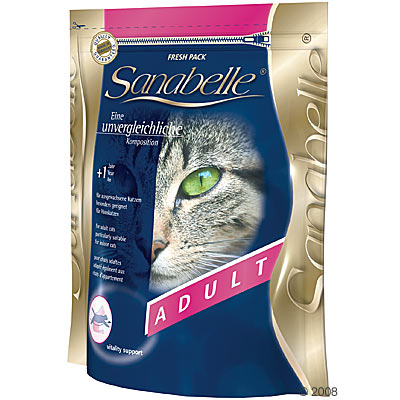 sanabelle adult kattenvoer      10 kg