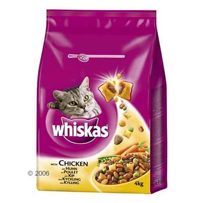 Whiskas droogvoer adult 4 kg     tonijn, groenten & knackits met vleesvulling van kantoor artikelen tip.