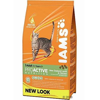 iams adult kattenvoer met lam      10 kg